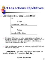 ii 3 les actions r p titives1