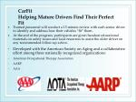 carfit helping mature drivers find their perfect fit