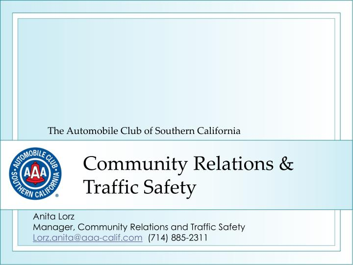 the automobile club of southern california n.