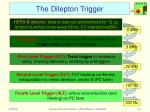 the dilepton trigger