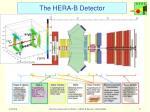 the hera b detector