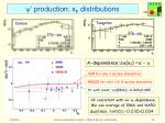 y production x f distributions