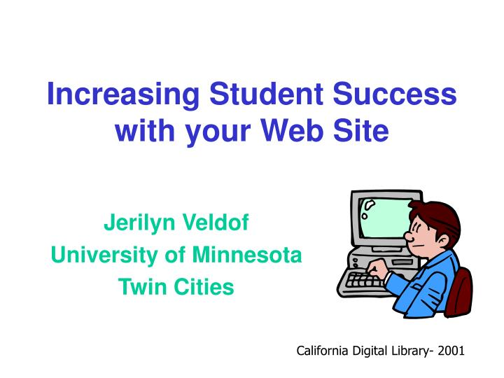 increasing student success with your web site n.