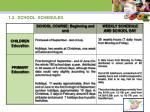 1 3 school schedules