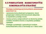 3 5 formulovanie marketingov ch komunika n ch strat gi