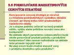 3 6 formulovanie marketingov ch cenov ch strat gi