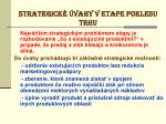 strategick vahy v etape poklesu trhu