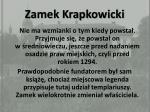 zamek krapkowicki
