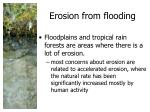 erosion from flooding