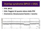 overlap syndrome bpco osa