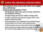 dana pelaburan asean china1