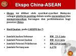 ekspo china asean