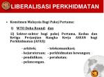 liberalisasi perkhidmatan