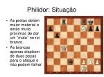 philidor situa o