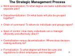 the strategic management process7