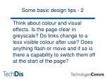 some basic design tips 2