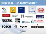 reference industry sector