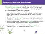cooperative learning base groups