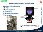 icleac experiments and measurements4