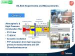 icleac experiments and measurements7