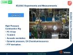 icleac experiments and measurements9