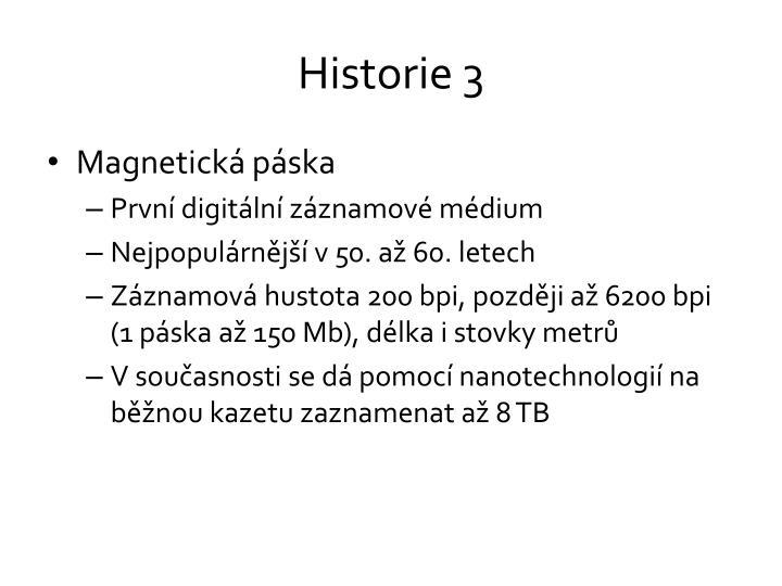 Historie 3