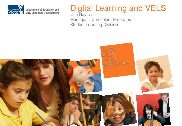 digital learning and vels n.