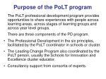 purpose of the polt program