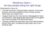 workforce reform the best people doing the right things2