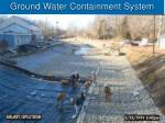 ground water containment system1