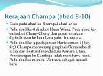 kerajaan champa abad 8 10