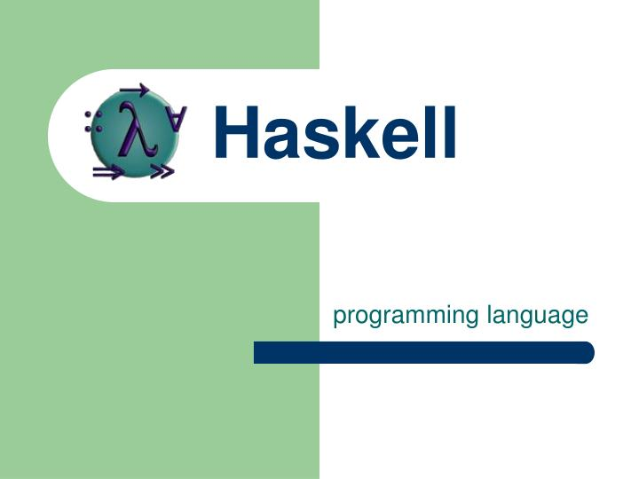 haskell n.