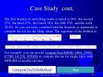 case study cont