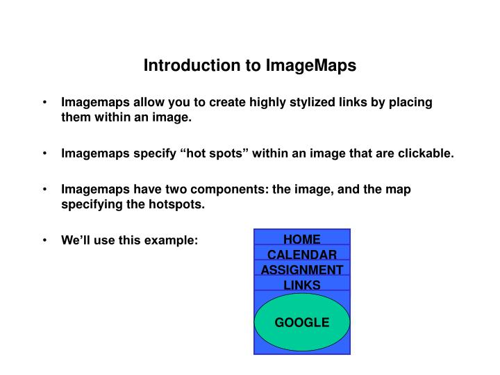 introduction to imagemaps n.