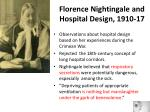 florence nightingale and hospital design 1910 17