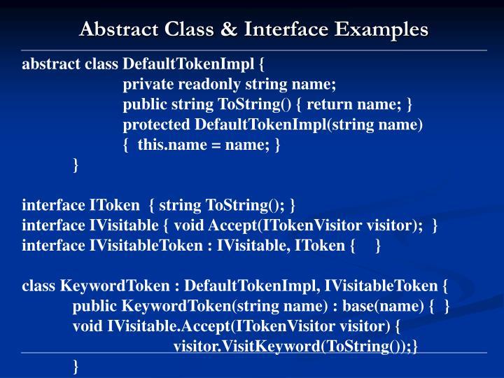 abstract class DefaultTokenImpl {