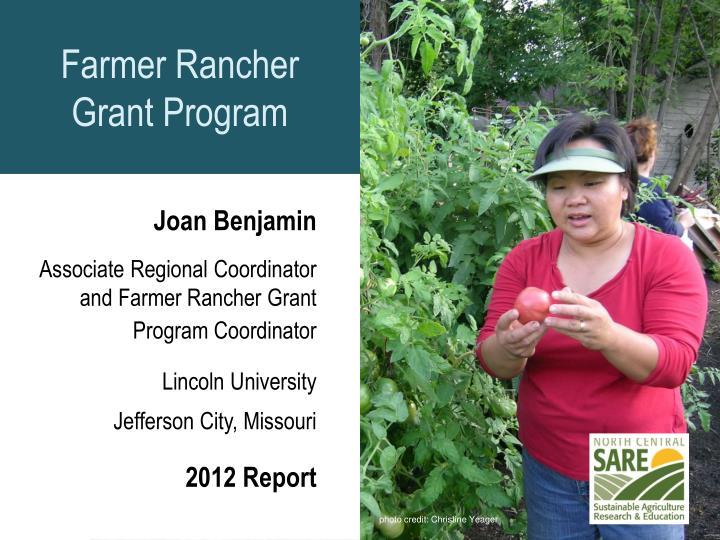 Farmer Rancher