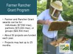 farmer rancher grant program1