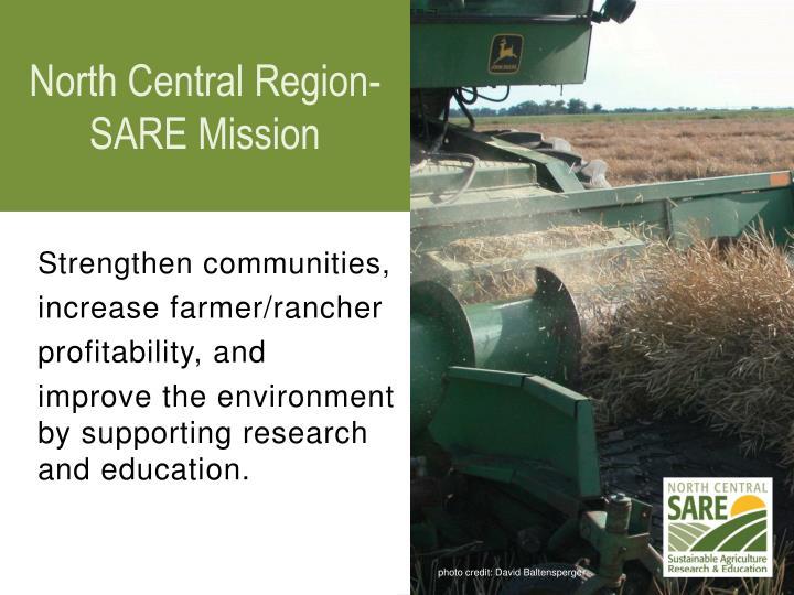 North Central Region-SARE Mission
