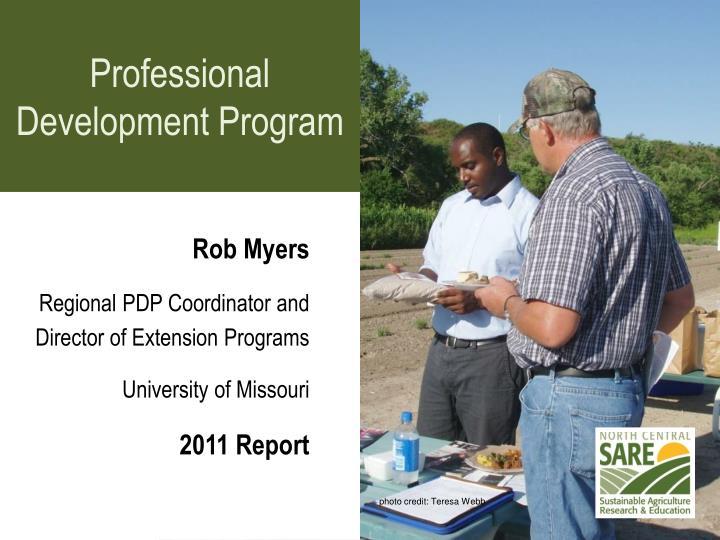 Professional Development Program