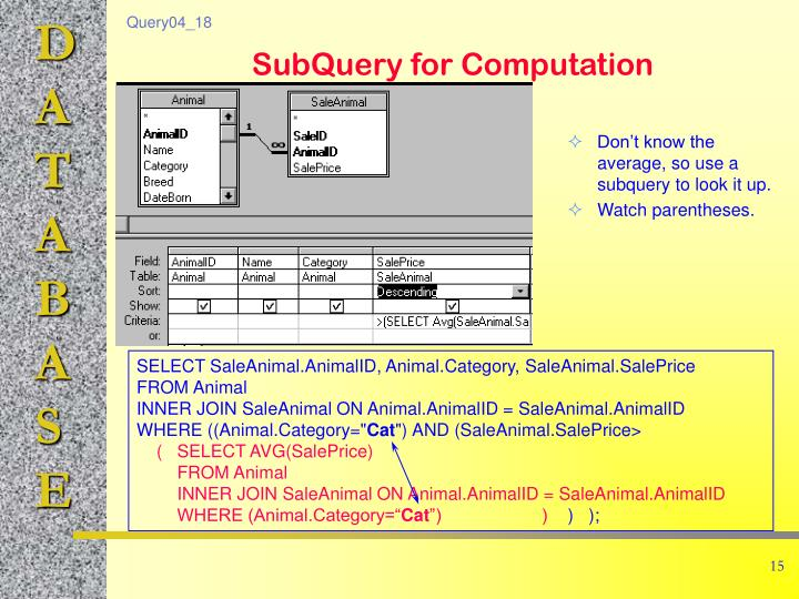 Don't know the average, so use a subquery to look it up.