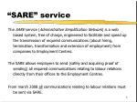 sare service