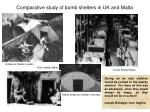 comparative study of bomb shelters in uk and malta