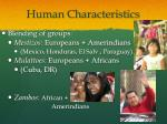 human characteristics1