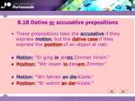 8 18 dative or accusative prepositions