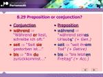 8 29 preposition or conjunction