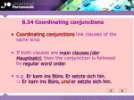 8 34 coordinating conjunctions
