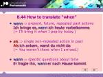 8 44 how to translate when