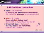 8 47 conditional conjunctions