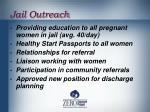 jail outreach